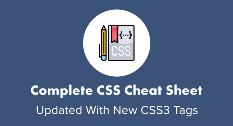 You are currently viewing Complete CSS Cheat Sheet