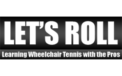 Lets Roll Wheelchair Tennis Logo