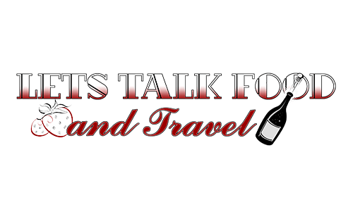 Lets Talk Food And Travel Logo